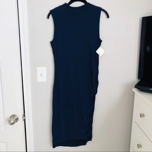 Halogen Rouched Bodycon Dress NWT